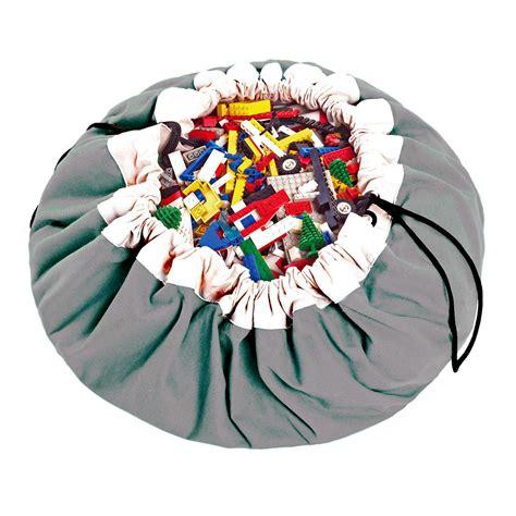 sac tapis de jeux gris play go pour chambre enfant les enfants du design