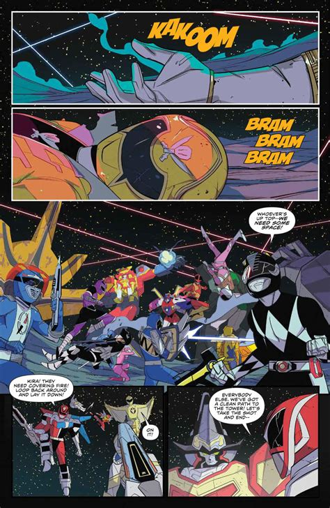 PREVIEWS Prevue: 'Mighty Morphin Power Rangers: Shattered ...