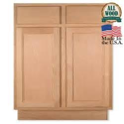 Stone Shower Shelf by Base 27 Quot Unfinished Alder Kitchen Cabinet
