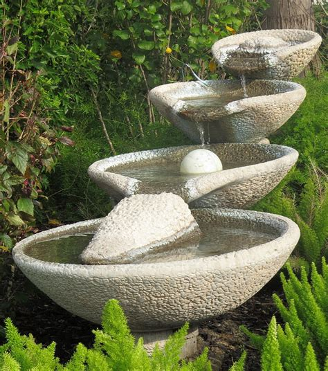 backyard water fountains front yard takes the best water feature for