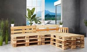 paletten lounge sitzmobel glnzend selber bauen anleitung With französischer balkon mit hornbach garten lounge