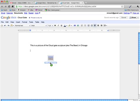 google docs now features drag and drop insertion of images