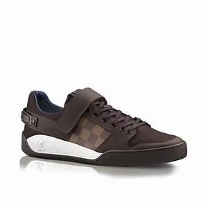 Sneakers Louis Vuitton Homme : sneaker elliptic en toile damier et flannelle via louis ~ Nature-et-papiers.com Idées de Décoration