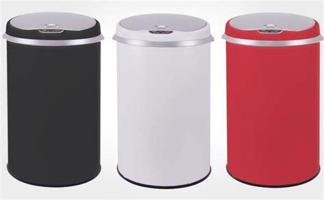 poubelle de cuisine automatique 30 litres poubelles inox automatiques 30 42 ou 50 litres