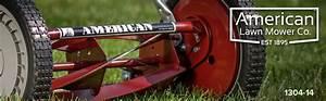 American Lawn Mower Company 14 In  Manual Walk Behind Reel
