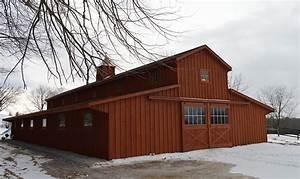 horse barns amish built pa nj md ny jn structures With amish horse barns