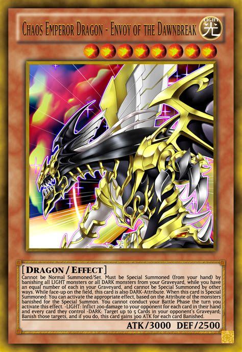 Chaos Emperor Deck List by Chaos Emperor Envoy Of The Dawnbreak By Genmanoou