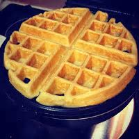 Tracy Cooks in Austin: Waffles, Belgian Waffles in my