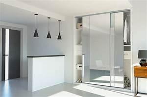 Porte Coulissante Miroir Sur Mesure : mod le de vantaux coulissant sur mesure porte de placard ~ Premium-room.com Idées de Décoration