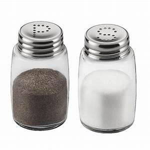 Wmf Salz Und Pfeffer : salz pfefferstreuer set standard 4 2 x 7 2 cm s p loch glas edelstahl salz ~ Frokenaadalensverden.com Haus und Dekorationen