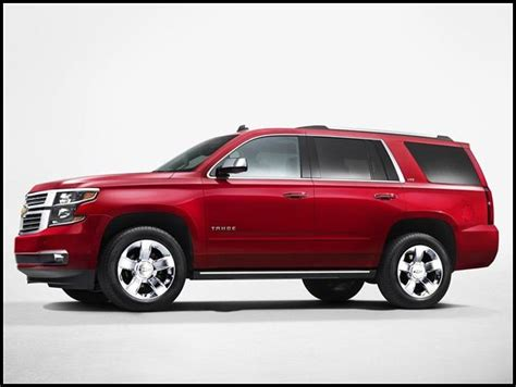 chevy tahoe concept redesign  update  suvs