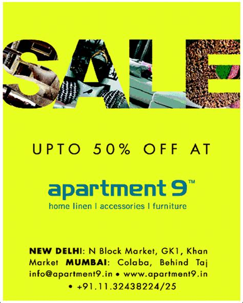 Apartment Number 9 Discount Code by Apartment 9 Discount Offer On Furniture Home Linen