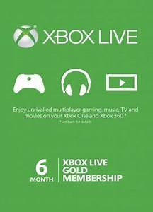Review Xbox Live Gold 6 Month Membership