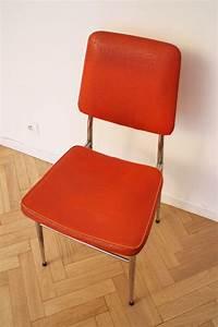 Chaise Vintage Pas Cher Orange 7039s Luckyfind