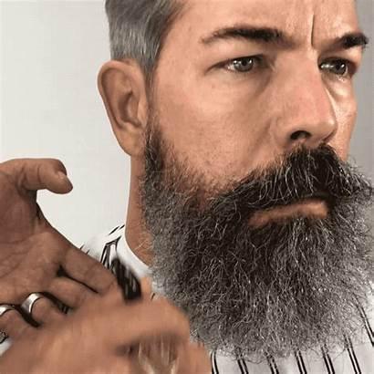 Beard Grooming Handsome Keep Male Trim Curly
