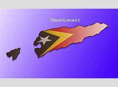 East Timor Flag ~ Baucau History & Nature TimorLeste