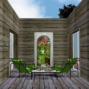 Decoration Terrasse Exterieur : patio decoration exterieur terrasse en bois ~ Teatrodelosmanantiales.com Idées de Décoration