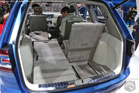 Touareg 3rd Row Seat by Detroit Auto Show Has The Vw Crossblue Finally Cracked