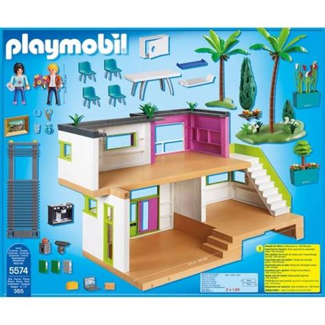 lego city maison moderne maison moderne playmobil city 5574 aime city playmobil and