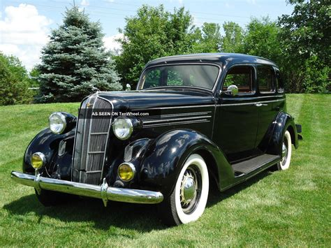 1936 Dodge Sedan by 1936 Dodge Brothers D2 Touring Model Sedan