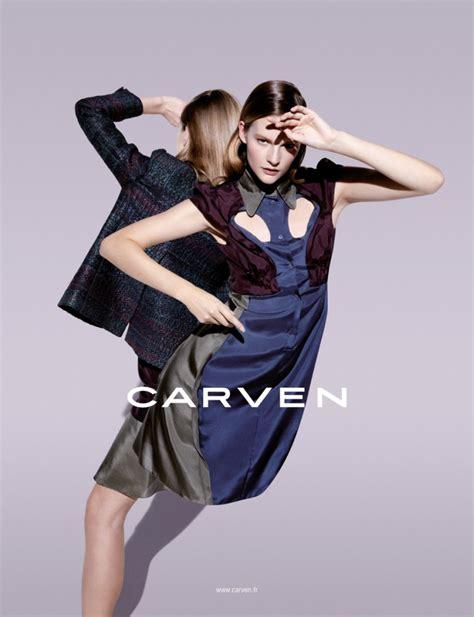 Sara Blomqvist Shows Two Sides For Carven's Spring 2013