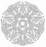Coloring Wiccan Handfasting Celtic Adults Pentacle Printable Wicca Mandala Demon Ceremony Colouring Pagan Witch Deviantart Symbols Club Printables Adult Template sketch template