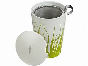 Mug Avec Infuseur : tasse th teaforte kati spring grass ~ Teatrodelosmanantiales.com Idées de Décoration