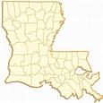Louisiana Parish Map