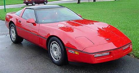 1986 Corvette Tech Center