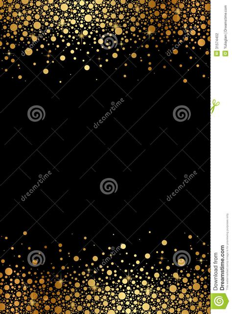 black  gold luxury frame stock photography image