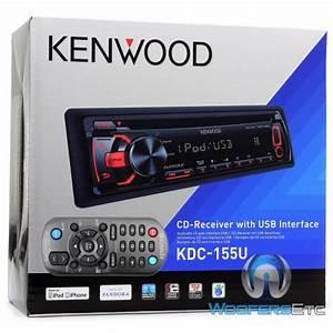 Kdc-155u  Mp3 Stereo Receiver
