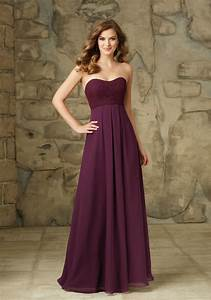purple 2016 a line sweetheart floor length chiffon lace With wedding dresses under 50