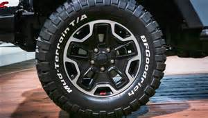 Jeep Wrangler with Off-Road Tires