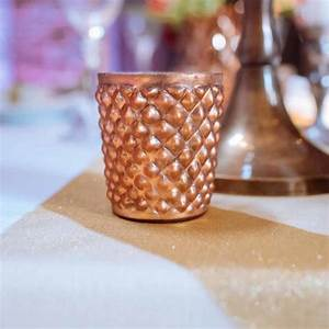 Quilted, Glass, Copper, Tea, Light, Holder, By, The, Wedding, Of, My, Dreams