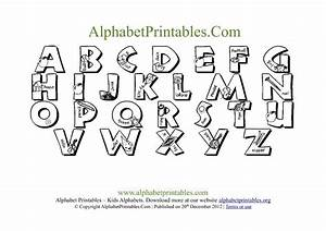 5 best images of printable alphabet letter i free With letters to trace and cut out