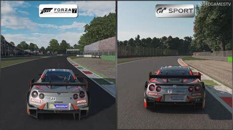Gran Turismo Sport 7 by Forza 7 Vs Gt Sport Nissan Motul Autech Gt R Na Torze