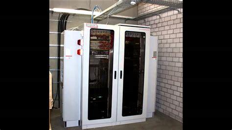 Serverschrank Mit Klimaanlage, Löschanlage Und Remote
