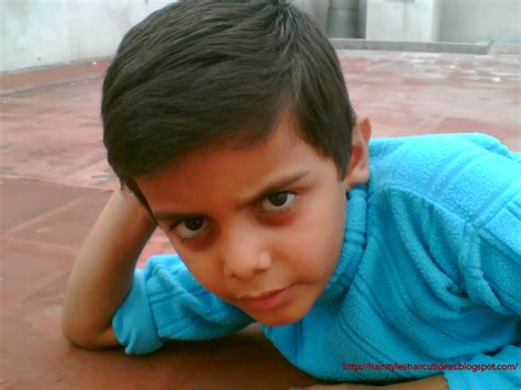 side part hairstyle boys indian kid hairstyle