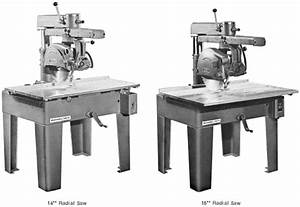 Rockwell 14 U0026quot   U0026 16 U0026quot  Radial Arm Saw Parts Manual 0594