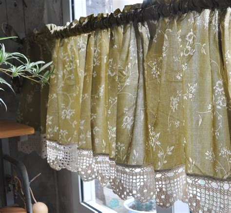 country kitchen curtain country valance curtains window treatments design 2775