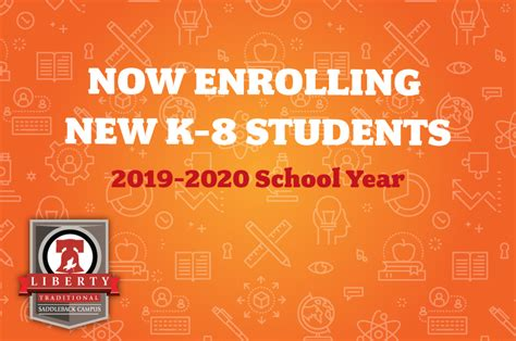 enroll school year liberty traditional schools