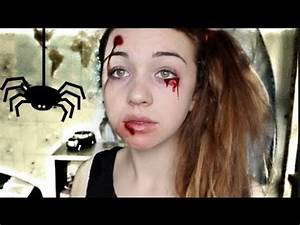 Maquillage D Halloween Pour Fille : maquillage halloween rapide simple conomique youtube ~ Melissatoandfro.com Idées de Décoration