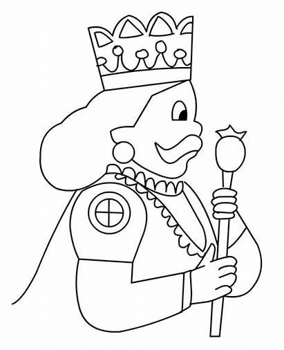 King Coloring Colorings Ox4 Drawings