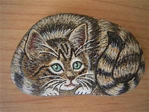 Steine Bemalen Katze : hobby ~ Watch28wear.com Haus und Dekorationen