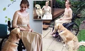 Pictures Show Queensland Wheelchair Bound Teen Preparing