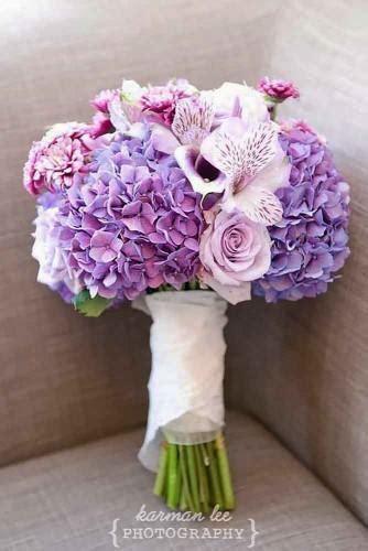 purple blue wedding bouquets wedding
