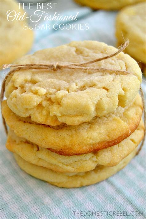 The Best Old Fashioned Sugar Cookies   The Domestic Rebel