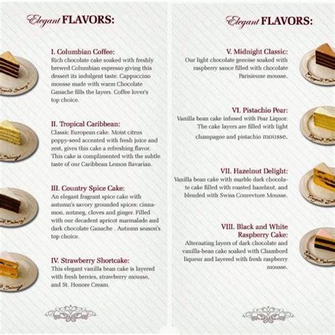 best wedding cake flavors best wedding cake flavors