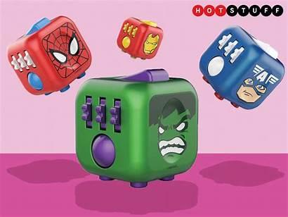 Fidget Cubes Stuff Cube Toys Themed Improvers