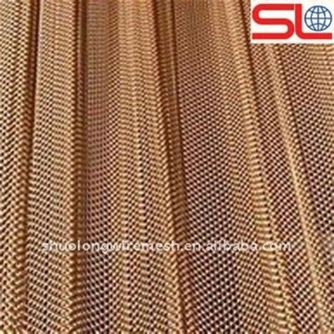 type 304 stainless steel chain flexible metal mesh fabric colored decorative wire mesh